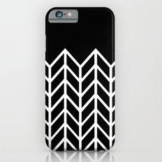 BLACK LACE CHEVRON Slim Case iPhone 6s