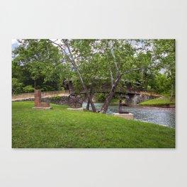 Lovework at the Humpback Bridge Canvas Print