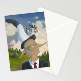 The Two Poles Stationery Cards