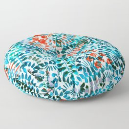 The Jungle Under the Sea Floor Pillow