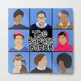 The Badass Bunch Metal Print