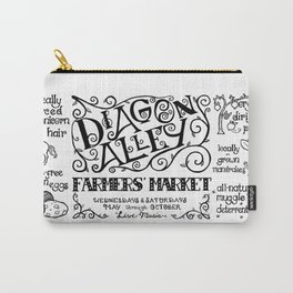 Diagon Alley Farmers' Market Carry-All Pouch