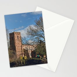 St Botolph's Church Newbold-on-Avon Stationery Cards