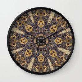 Mandala - The Night Bazaar Wall Clock