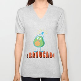 Bravo Applause Avocado Funny Lecture Gift Unisex V-Neck