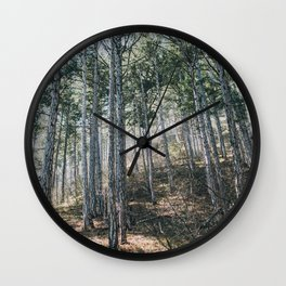 Forest Wall Clock