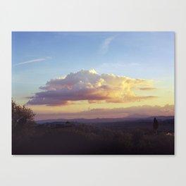Tuscan Cloud Canvas Print