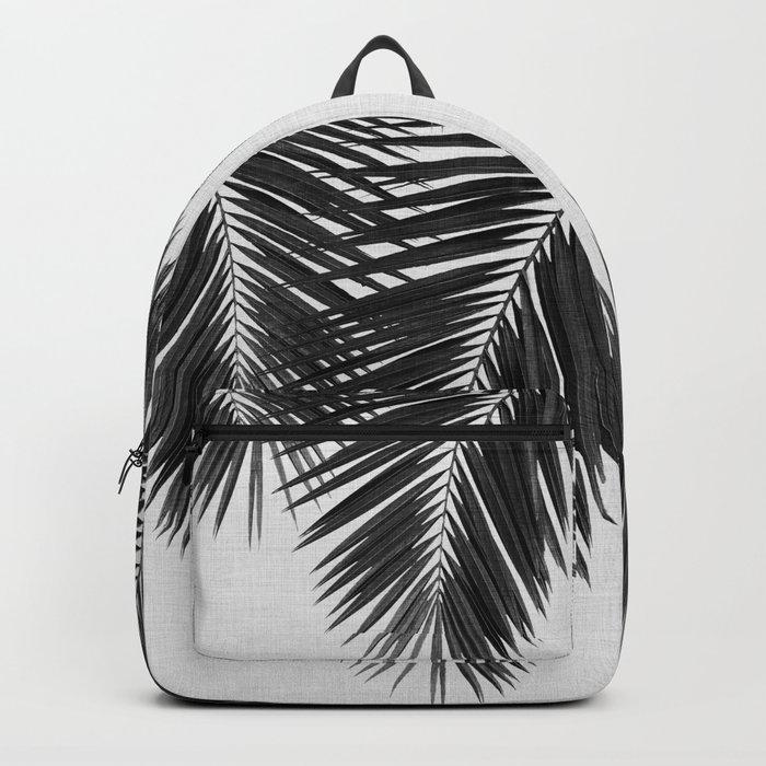 Palm Leaf Black & White II Rucksack