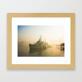 The Thames, London. Framed Art Print