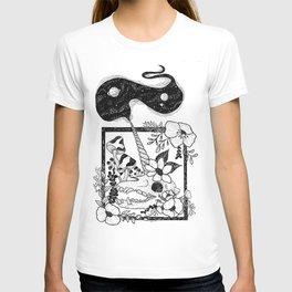 Unicorn Skull Garden T-shirt
