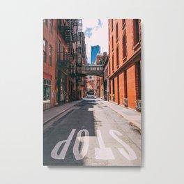 Air passage in New York City Metal Print