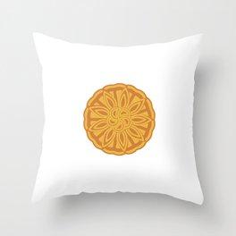 Mooncake  Throw Pillow