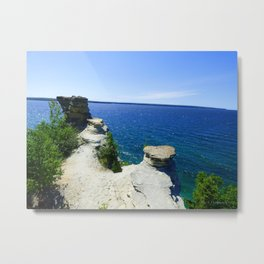 Castle in the Sun Metal Print