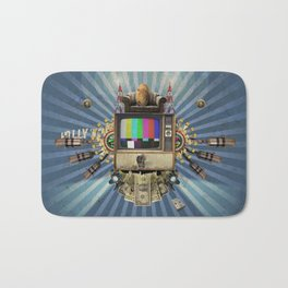 The  Television Will Not Be Revolutionised! Bath Mat