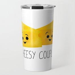 Cheesy Couple | Swiss & Cheddar Cheese Travel Mug
