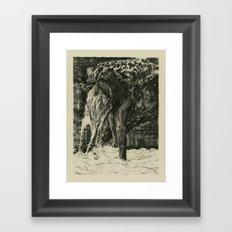 Back to Dust Framed Art Print