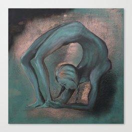 Dancer blue Canvas Print
