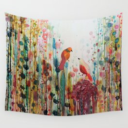 la romance Wall Tapestry
