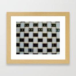 Tejido 35mm  Framed Art Print