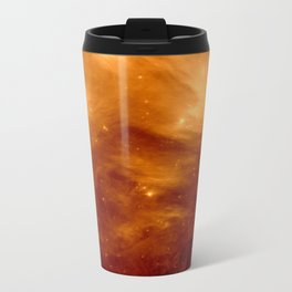 Copper Galaxy Nebula : The Seven Sister Pleiades Travel Mug