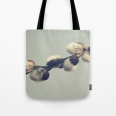 Fluffy gray Tote Bag