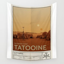 The Desert Planet of Tatooine Wall Tapestry