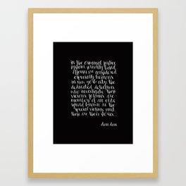 SVU INTRO Framed Art Print