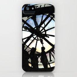 Musée d'Orsay Clock iPhone Case