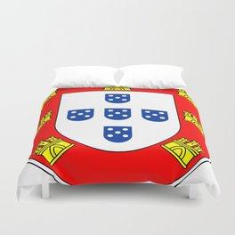 Portuguese escudo Duvet Cover