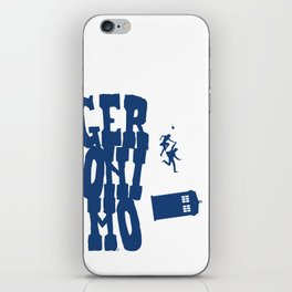 Geronimo Doctor Who iPhone Skin