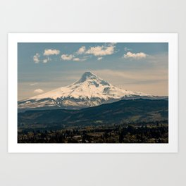 Mountain Valley Pacific Northwest - Nature Photography Art Print