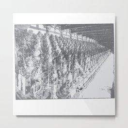 Industrious Metal Print