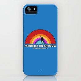 Remembering Rainbow Randolph iPhone Case
