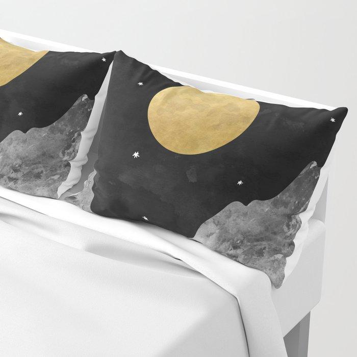 Moon and Stars Kissenbezug