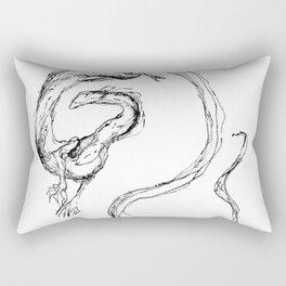 Dragon Lines Rectangular Pillow