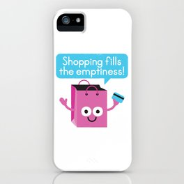 Retail Therapy iPhone Case