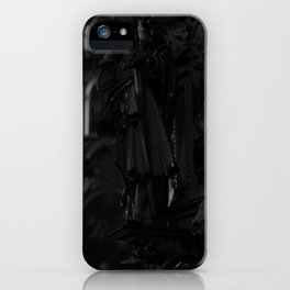 waisting lords    -    Black and White  iPhone Case