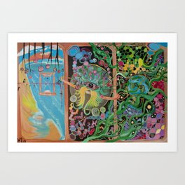 """""""Gulf Oil Spill of 2010"""" Art Print"""