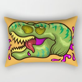 Rex Defeat Rectangular Pillow