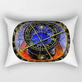astronomical clock Rectangular Pillow