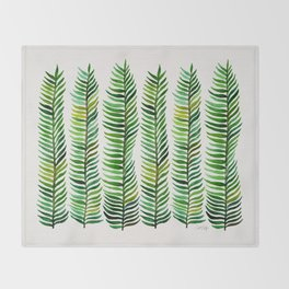 Seaweed Throw Blanket