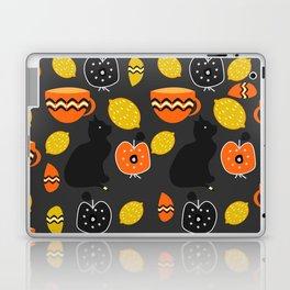 Cats, lemons and teacups Laptop & iPad Skin