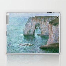 Claude Monet, French, 1840-1926 Manne-Porte, Etretat Laptop & iPad Skin