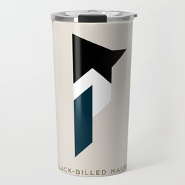 Black-Billed Magpie Travel Mug