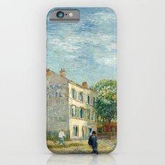 Restaurant Rispal at Asnieres by Vincent van Gogh iPhone 6s Slim Case