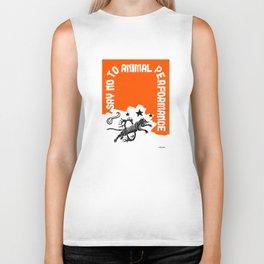 Say NO to Animal Performance Tiger I Biker Tank