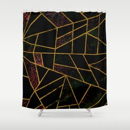 Abstract #939 Shower Curtain