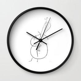 Gary Peacock – Improvisations in Jazz Wall Clock