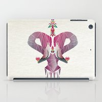 flamingo iPad Cases featuring flamingo by Manoou