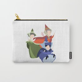 Flora, Fauna and Merryweather Carry-All Pouch
